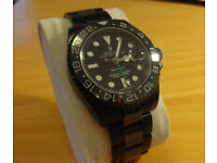 Pro Hunter Rolex GMT Master II, all black Automatic