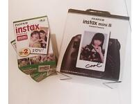 Instax mini 8 camera and 2x 20 films
