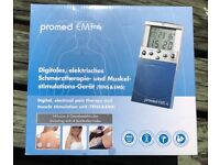 Promed EMT-4, Digital, electrical pain therapy and muscle stimulation unit (TENS & EMS)