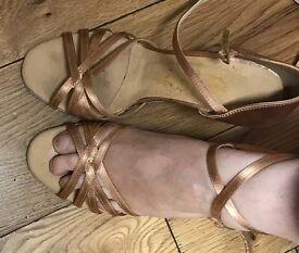 Superdance dance shoes size 3