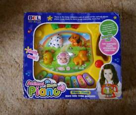 Toddler lights and sounds piano, animals sounds