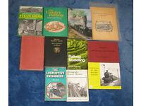 Job Lot of Vintage Railway Books