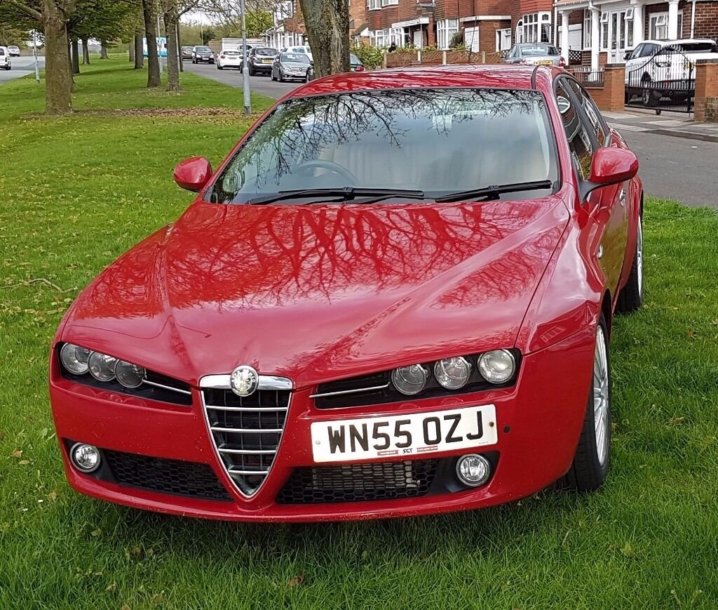 alfa romeo 159 2 4 jtdm lusso 4dr red tanned leather in sandwell west midlands gumtree. Black Bedroom Furniture Sets. Home Design Ideas
