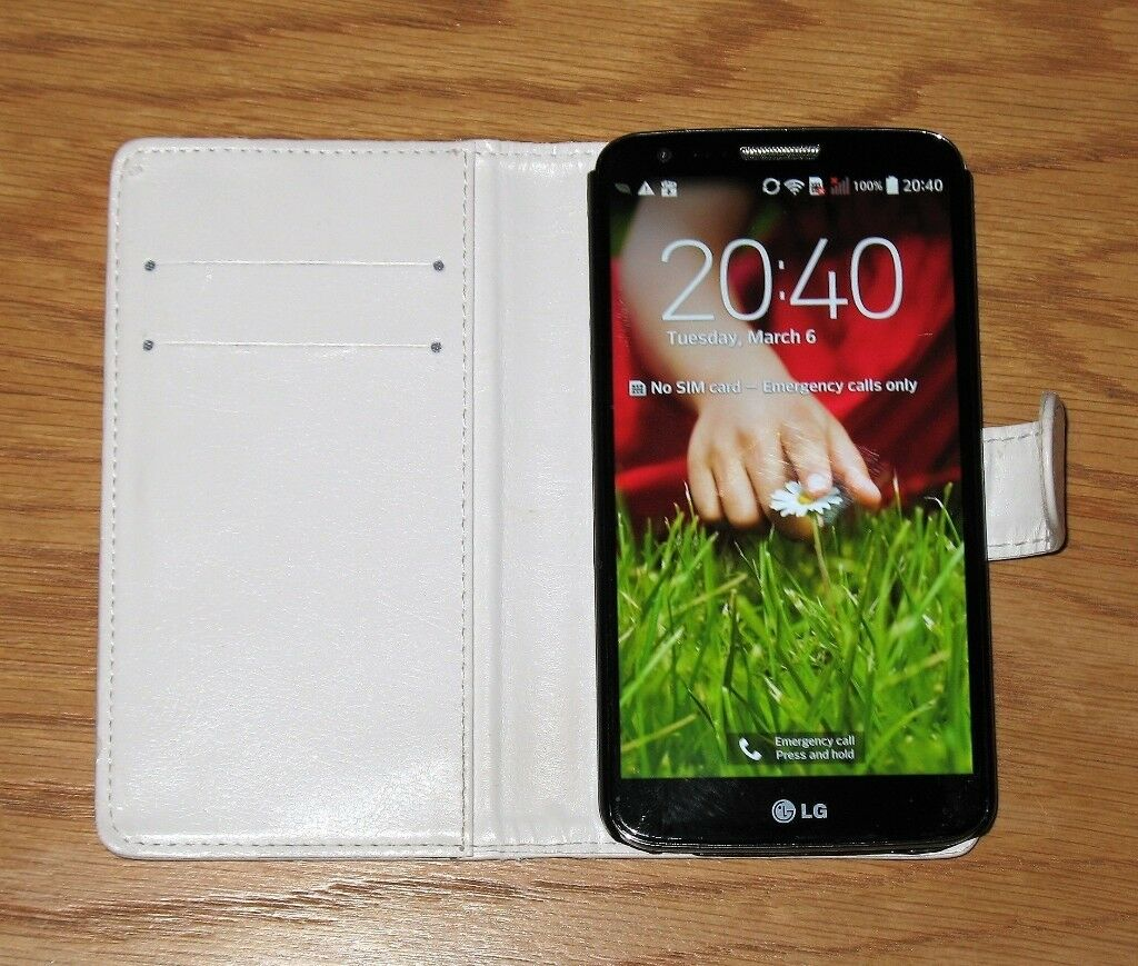 Lg G2 D802 16gb Smartphone Unlocked Immaculate Condition In White