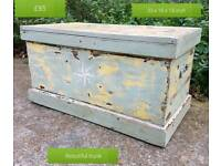 Very cool upcycled pine trunk