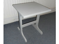 Grey Painted Side Table, Lamp Table