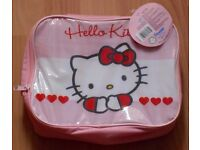 Brand new with tags Hello Kitty school lunch bag