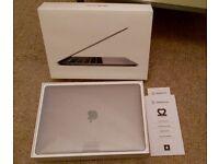 MacBook PRO 13 INCH SPACE GREY TOUCH BAR MINT CONDITION i5 2.9GHz 8GB RAM 256GB SSD & RECEIPT