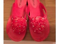 Plastic shoes size 5/6