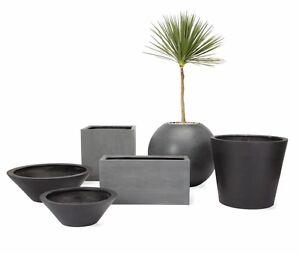 Avalon-Dish-Planter-LARGE-Modern-DWR-Design-Within-Reach-Garden-Outdoor-NEW