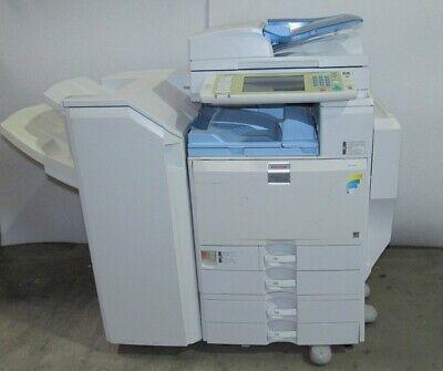 Ricoh Aficio Mp C5000 Color Mfp Color Laser Copier Printer Scanner