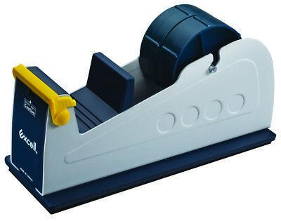 Et-227. Twin-roll Steel Desktop Tape Dispenser With Two 2 1 X 76yd Free Roll