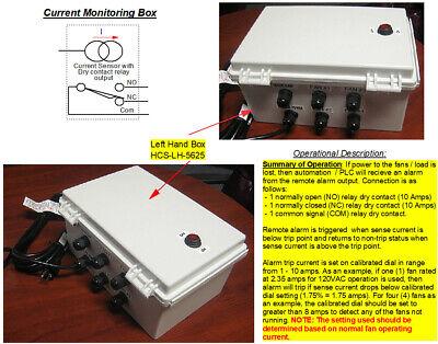 Analog Current Sensing Control Box Sensor W Automation Plc Monitor Output - Lh