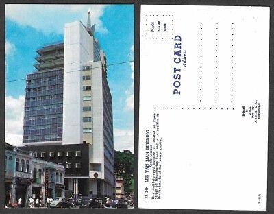 Old Malaysia Postcard - Kuala Lampur - Lee Yan Lian Building