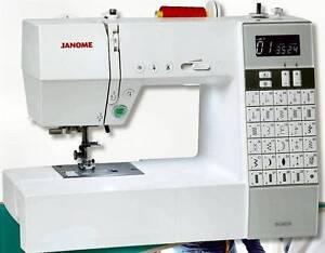 Janome Computerized Sewing Machine, DC6030 Carey Park Bunbury Area Preview