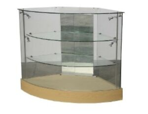 Must Sell!! Glass Display Cases
