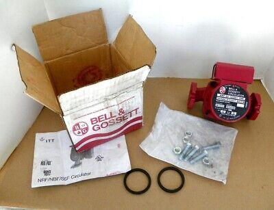 New Bell Gossett Circulator Nrf-22 103251 Water Circulating Pump Red Fox