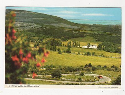 Corkscrew Hill Co Clare Ireland 1971 Postcard 982a