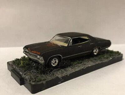 1967 Chevy Impala 1/64 Diecast Custom Rusty Weathered Diorama Barn Find