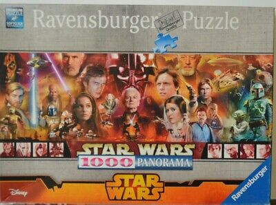 Jigsaw Puzzle 1000 Star Wars Panorama Legends Ravensburger