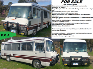 Open to reasonable offers - 1987 Toyota Coaster Camper Bellerive Clarence Area Preview