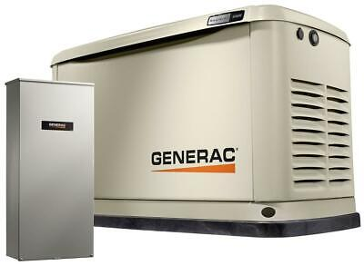 Generac Guardian Series 10kw - Air-cooled Home Standby Generator W 100 Amp Ats