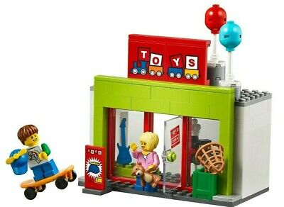 LEGO City Toy Shop Store & 2 Minifigures Train Town Christmas Scene 60197 Gift