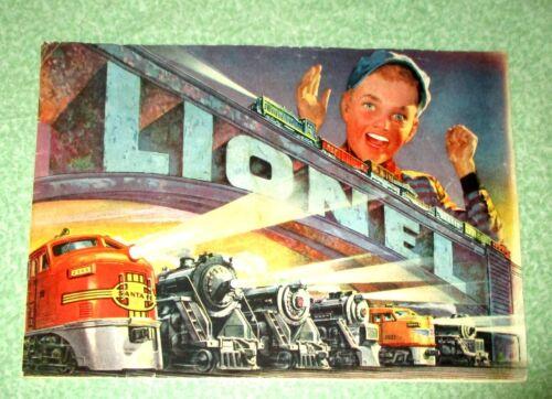 Vintage Lionel Postwar Trains Original 1952 Catalog - Excellent Plus