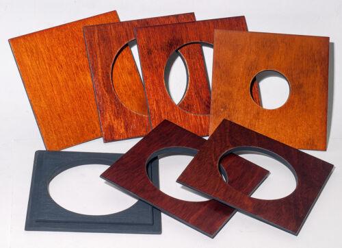 "1  LENS BOARD 4x4"" - ""C"" for GRAFLEX ANNIVERSARY SPEED GRAPHIC -of Birch Plywood"