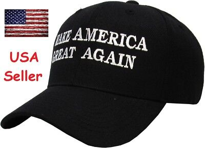 President Donald Trump Make America Great Again Hat Us Republican Cap Black