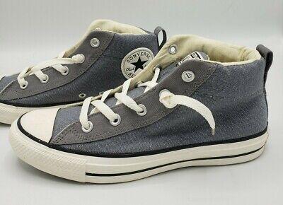 Converse All Star CT Street Mid Mason Grey Men's Size 8.5