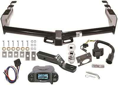 99-13 CHEVY SILVERADO TRAILER HITCH KIT W/ TEKONSHA PRODIGY P3 BRAKE - Trailer Hitch Brake Control