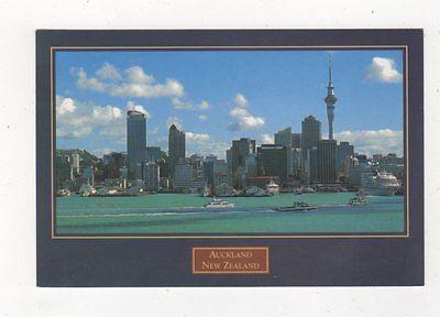 Waitemata Harbour Auckland New Zealand Postcard 931a
