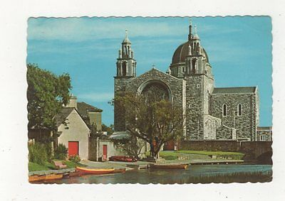 Galway Cathedral River Corrib Ireland Postcard 910a