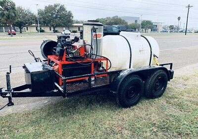 Hotsy 1260 Ss Commercial Pressure Washer Trailer Combo Very Dependable Machine
