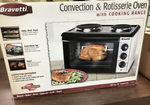Convection & Rotisserie oven w/ cooking range. $100