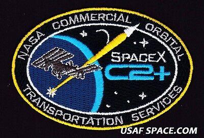 SPACEX C2+ - NASA COMMERCIAL ORBITAL TRANSPORTATION SERVICES - AB Emblem PATCH