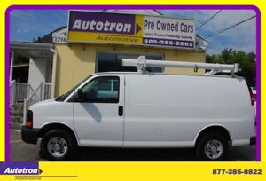 2014 Chevrolet Express 2500 3/4 Ton Cargo Van, Loaded, Roof Rack