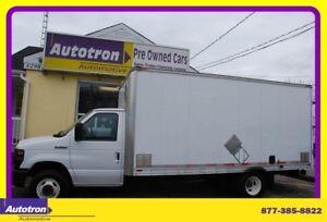 2012 Ford E350 14' Cube Van, A/C