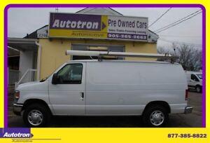 2014 Ford E250 3/4 Ton Econoline Cargo Van, Chrome Pkg. Roof Rac