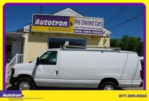 2011 Ford E250 3/4 TON EXT. Cargo Van, Roof Rack, A/C
