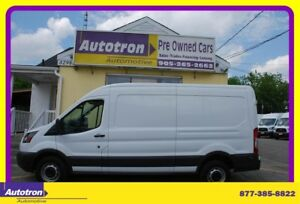 2016 Ford TRANSIT-250 3/4 Ton Mid Roof Cargo Van, Loaded