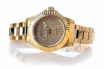 Invicta Pro Diver Lady's Gold Tone Diamond Swiss Bracelet Watch New 17712 New