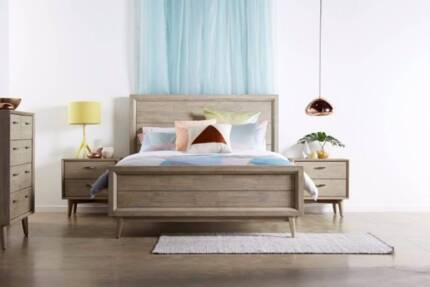 Brand New Grandis Timber Bed Frame in Queen and King   Beds ...