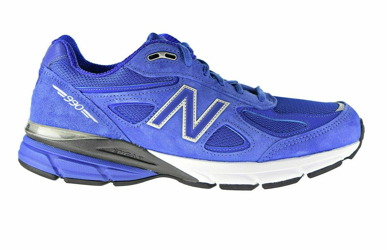 New Balance 990v4 Made in USA Blue Black Men's Shoes Sneaker