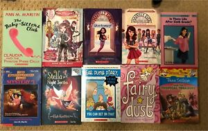 Assortment of novels for 8-12 year old reading level.