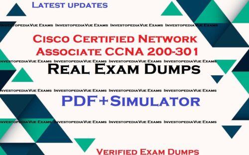 CCNA 200-301 Cisco Certified Network Associate exams questions and simulator