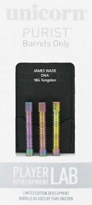 James Wade DNA Darts Soft 18g Unicorn 90% Tungsten mit Regenbogen Lackierung