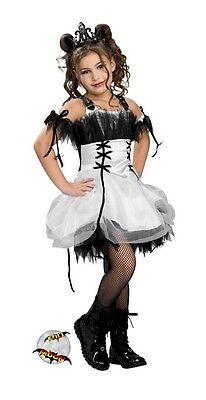 New Gothic Ballerina Child Goth Halloween Dress Costume  (Gothic Ballerina Costume)