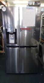 LGGSL961PZBV American-Style Fridge Freezer - Stainless Steel £749.99